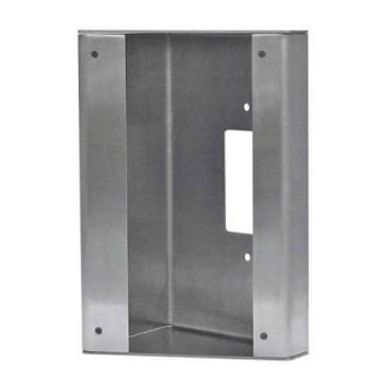 Aiphone SBX-AXDV30 Stainless Steel 30 Degree Angle Box For The AX-DV