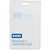 ProxCard II 125Khz Value Priced HID Proximity Card, Clamshell, (Custom Programmed)