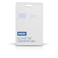 iClass Clamshell Contactless Smart Card - Blank