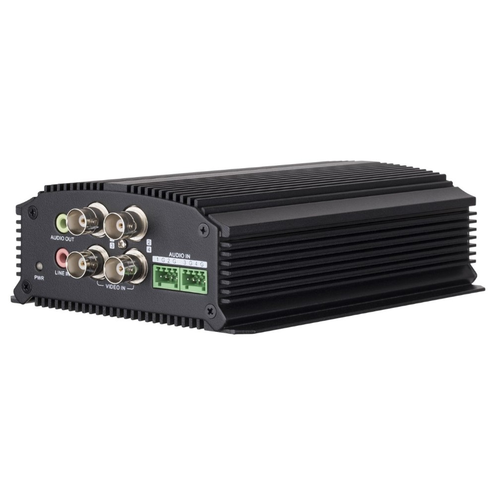 CSD | Hikvision Encoder 4 Channel 25fps@4CIF per ch, with