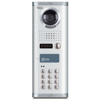 IIS 512 Apartment Video Door Station with Keypad, Surface Mount,(up to 16 door stations)