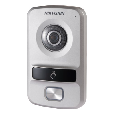 Hikvision Villa Door Station, 1 Button, Plastic, PON, HD720P , IP65