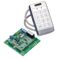 Weatherproof Terminal (Includes Keypad and Reader module PCB)