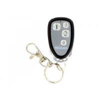 4 Button Metal Keyfob 4 Weigand I/D and HID Tag