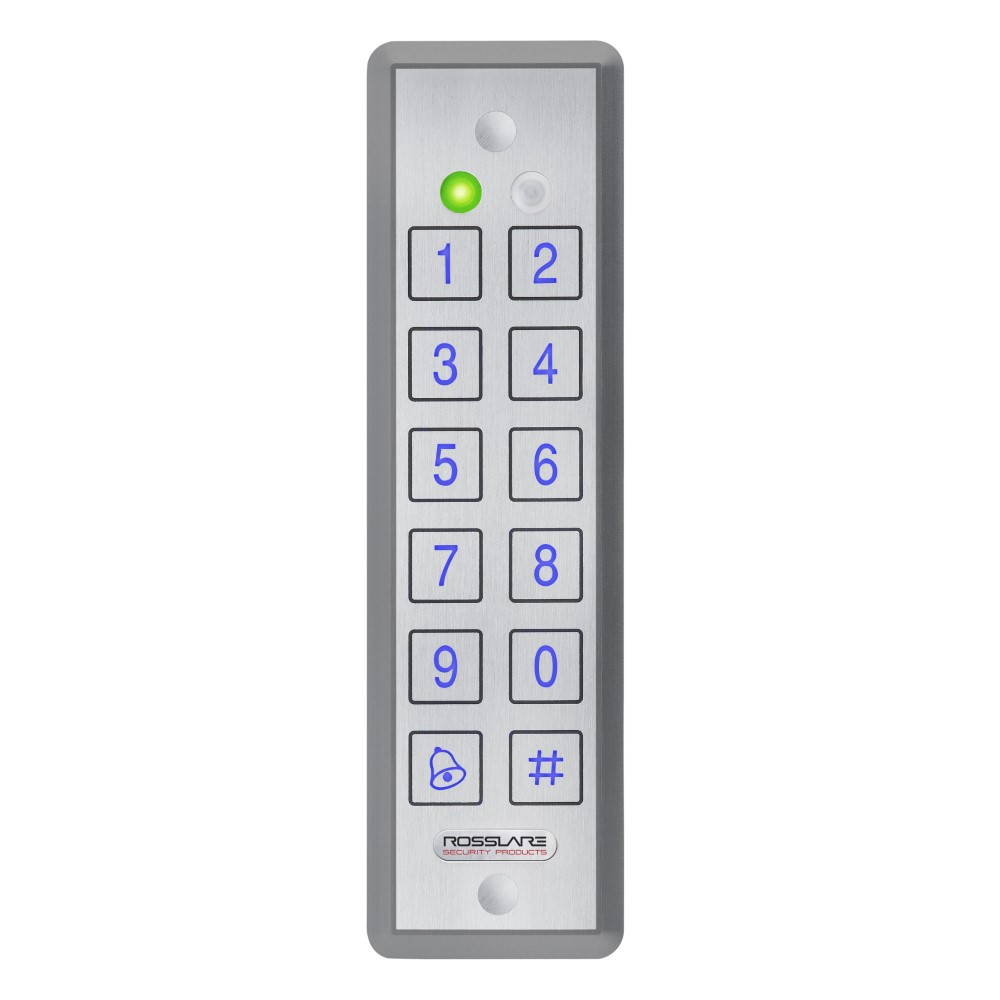 CSD | Rosslare Ultra Slim 2x6 PIN & Prox Reader Controller, Grey