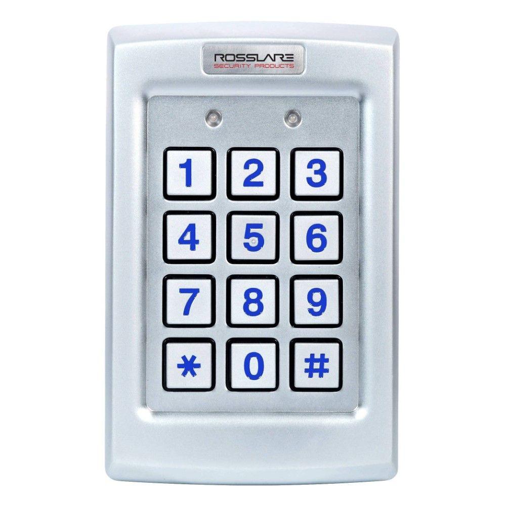 CSD | Rosslare 3x4 PIN Keypad, Wiegand, Backlit, Vandal, IP65