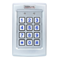 Rosslare Standalone 3x4 PIN Keypad 3A Form C Relay Backlit, Vandal Resistant
