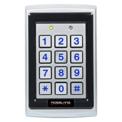 CSD | Rosslare 3x4 PIN Keypad, EM Prox, Wiegand, Backlit, Vandal, IP65