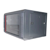 PSS Single Section Wall Mounted Cabinet, 6 Rack Unit