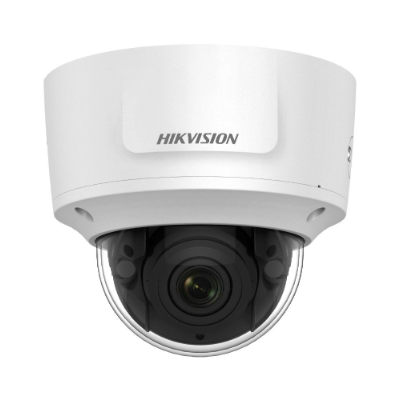 Hikvision 6MP Outdoor Motorised VF Dome, H.265+, 30m IR, IO, WDR, IP67, 2.8-12mm