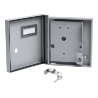 External Weather Resistant Metal Housing with Keylock to suit Elite Terminal