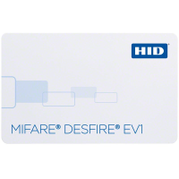 HID DESfire EV1 Contactless Smart Card - 8k Memory with flexible file system