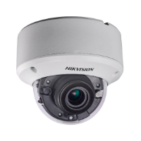 Hikvision TVI4.0 5MP Outdoor IR Dome Camera, 20fps, DWDR, UTC, IP67, 12VDC/24VAC, 2.8-12