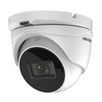 Hikvision TVI4.0 5MP Outdoor IR Turret Camera, 20fps, DWDR UTC, IP67, 12VDC, 2.8-12mm