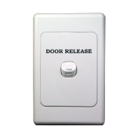 Honeywell Fire Magnetic Door Holder Remote Release Plate, Flush Mount