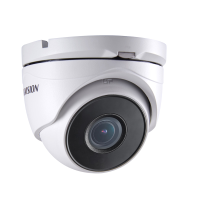 Hikvision 4MP Outdoor EXIR Motorised Turret, H.264+, 30m IR, 120dB WDR, IP67, 2.8-12mm