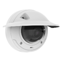 AXIS P3375-VE Dome Camera, 1080p, H.264, WDR, PoE, IK10, Audio, 3-10mm VF Lens