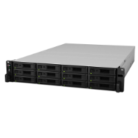 Synology RS418+ Rackstation 12 Bay NAS, Expandable to 24 Bays, Redundant Power Supply
