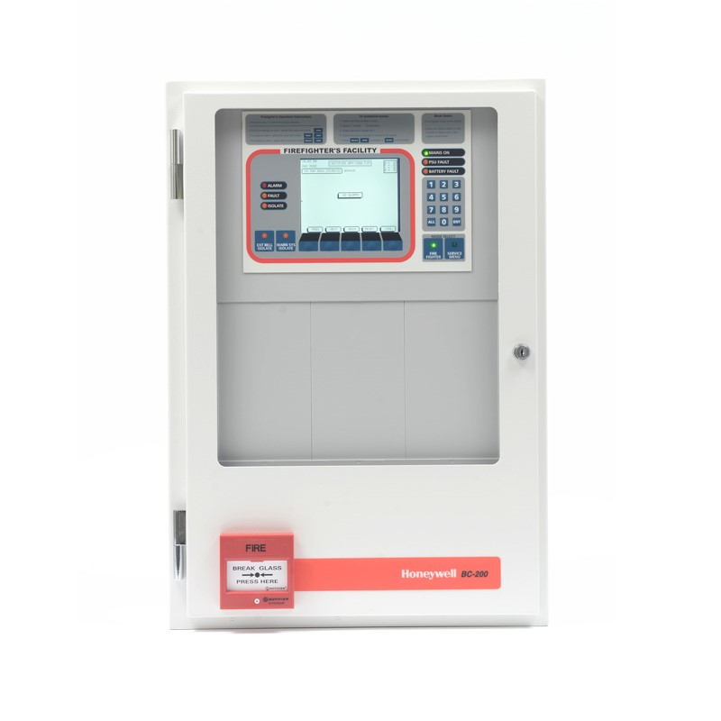 CSD Honeywell Fire BC 200 Panel In CAB650 With 1x Fire