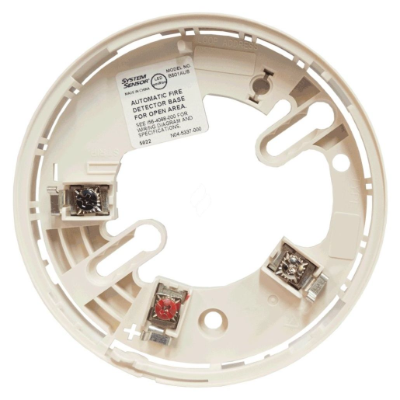 Honeywell Fire Detector Base to suit Addressable Detectors, White