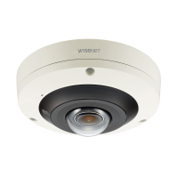 Hanwha Wisenet 4K Indoor Fisheye Camera, H.265, 30fps, 120dB WDR, 30m IR, 2.1mm