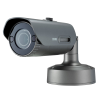 Hanwha Wisenet 4K Outdoor Bullet Camera, H.265, 30fps, 120dB WDR, 30m IR, 4.5-10mm