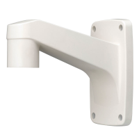Hanwha Wisenet Outdoor Wall Mount to suit PTZ Cameras, (req. Hanging Mount)