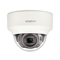 Hanwha Wisenet 2MP Indoor Dome Camera, H.265, 60fps, 150dB WDR, 30m IR, 2.8-12mm