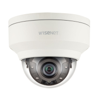Hanwha Wisenet 5MP Outdoor Dome Camera, H.265, 30fps, 120dB WDR, 30m IR, 3.7mm