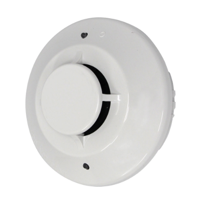 Honeywell Fire Conventional Photoelectric Smoke Detector, Off-White, req. B401 Base