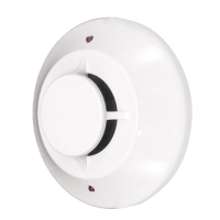 Honeywell Fire Addressable Photoelectric Smoke Detector, White, req. B501 Base
