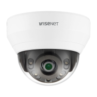 Hanwha Wisenet 4MP Indoor Dome Camera, H.265, 20fps, WDR, 20m IR, 2.8mm, White