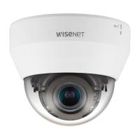 Hanwha Wisenet 4MP Indoor Dome Camera, H.265, 20fps, WDR, 20m IR, 2.8-12mm, White