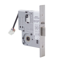 3570 Electric Mortice Lock, 60mm Backset, Monitored KOM, PTO/PTL, 12-24V DC