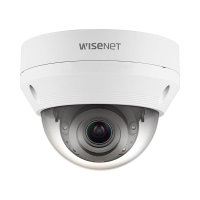 Hanwha Wisenet NEW-Q 5MP Outdoor VF Dome Camera, H.265, 30m IR, IP66, IK10, 3.2-10mm