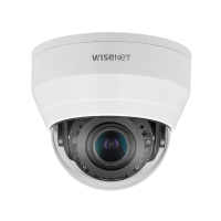 Hanwha Wisenet NEW-Q 5MP Indoor VF Dome Camera, H.265, 30m IR, WDR, 3.2-10mm