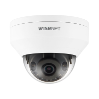 Hanwha Wisenet NEW-Q 5MP Outdoor Dome Camera, H.265, WDR, 20m IR, IP66, IK10, 2.8mm