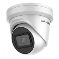 Hikvision 6MP Outdoor Turret Camera Powered by Darkfighter, 30m IR, WDR, IP67, 4mm