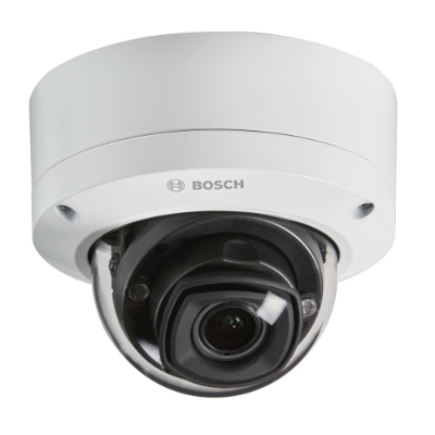 Bosch 5MP Outdoor Motorised VF Dome IP 3000i Camera, EVA Forensic Search, IR, 3.2-10mm